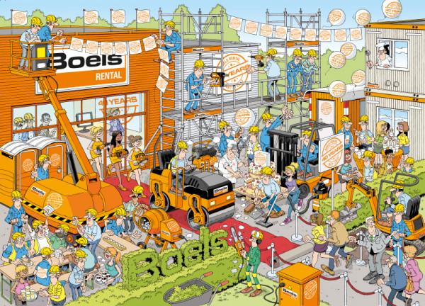 Kijkplaat Boels 40 jaar