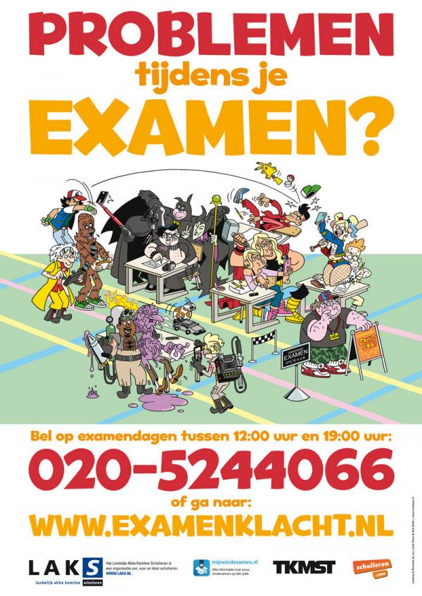 Examens zijn weer begonnen!