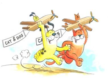 Cat & Dog leren de wereld lezen